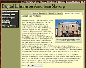 Digital Library on American Slavery