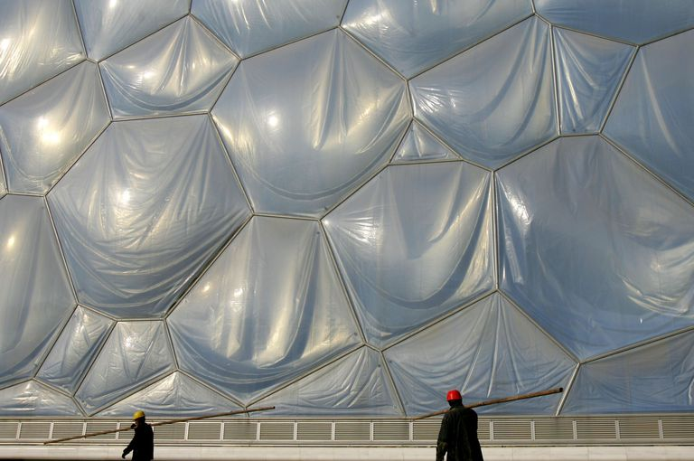 What Do Etfe Buildings Look Like