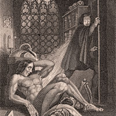 the genre of the frankenstein by mary shelley Free essay: frankenstein by mary shelley belongs to the horror genre in 1816, lord byron wished that mary shelley, mary goodwin, byron himself, claire.
