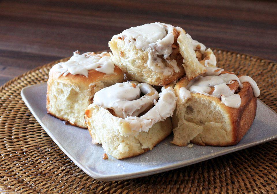Bread Machine Cinnamon Buns