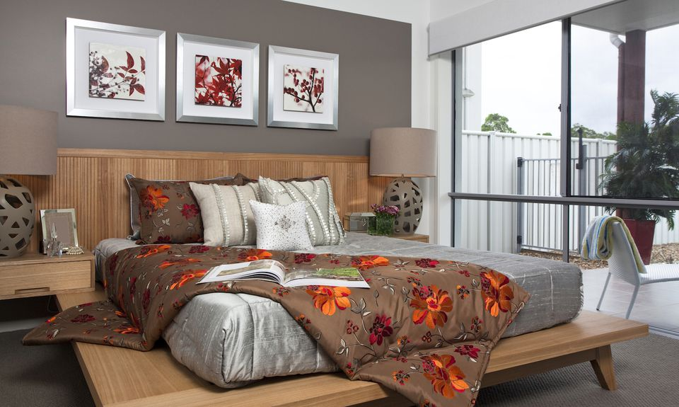 cheap home staging bedroom painted walls