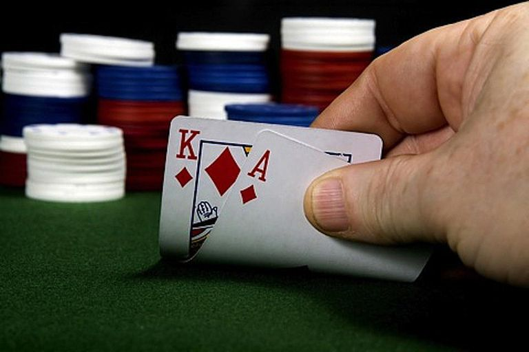 Ace-King, on of the top five best holdem starting hands
