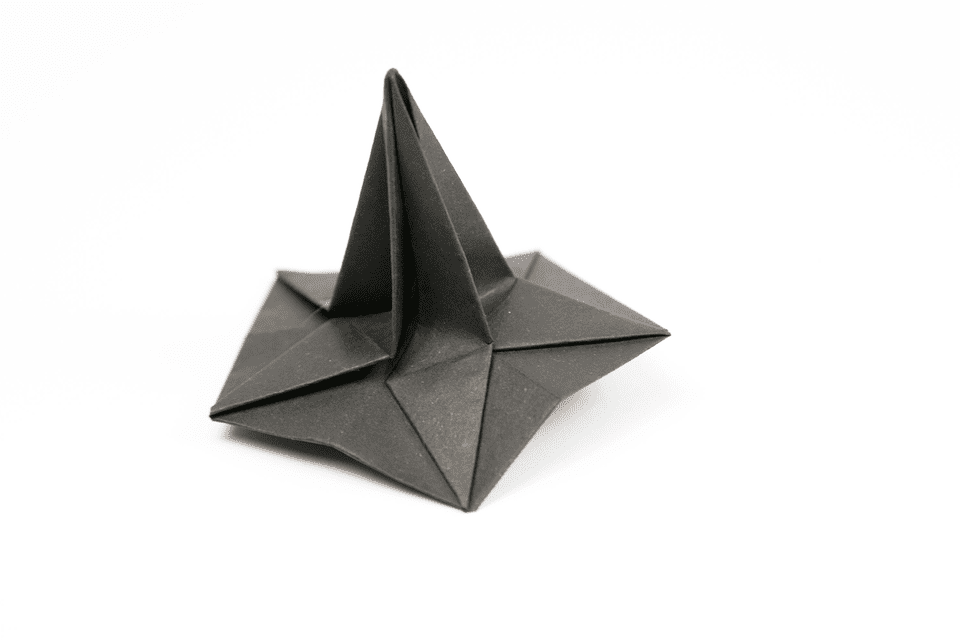 This origami bat is a straightforward model - but it does cheat by using a pair of scissors, which is not strictly allowed! The traditional origami bat model is quite tricky to fold so we have simplified it to produce this one which is great for children to fold but still very effective.