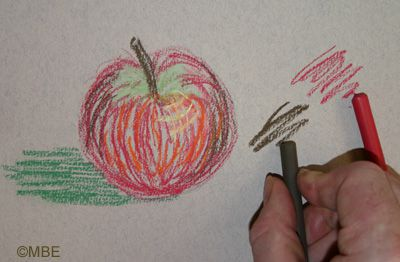 Painting with Pastels: Drawing with the End