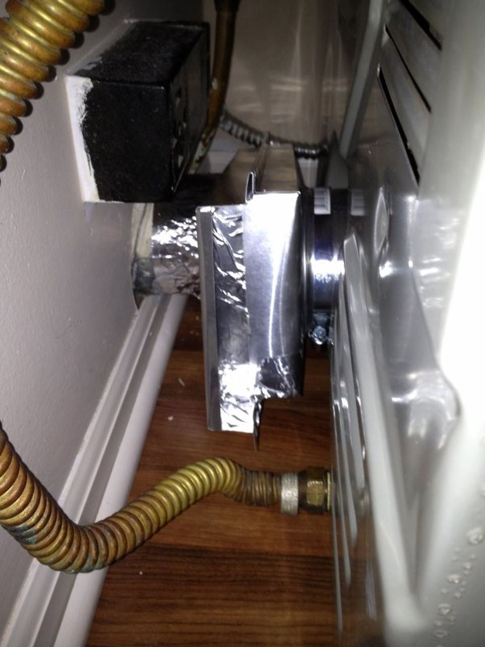 How To Hook Up A Dryer Vent In A Tight Space