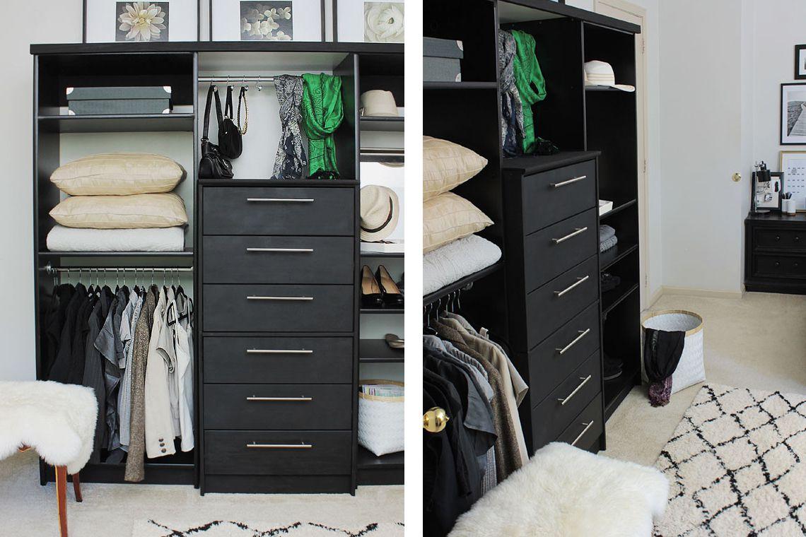 Bedroom Wall Storage.  21 Best IKEA Storage Hacks for Small Bedrooms