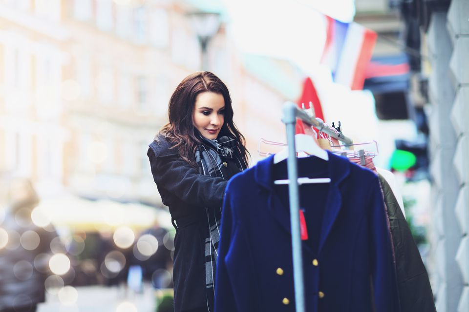 Clothes shopping Clothes shopping in Malmo, Sweden - February 18, 2017