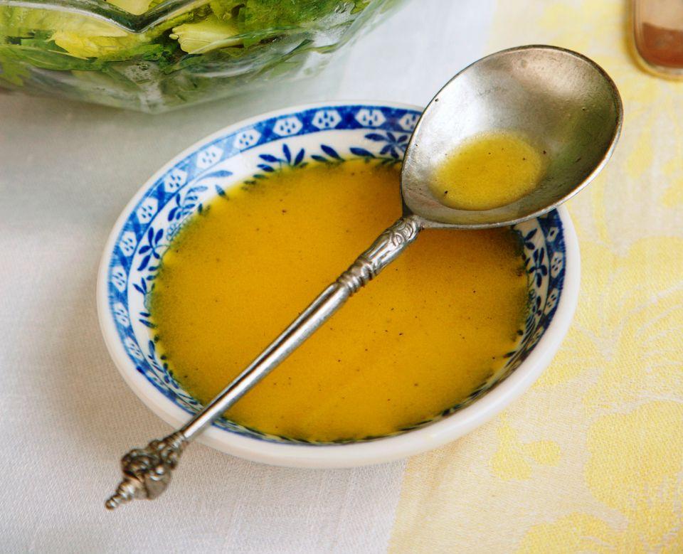 Lime agave salad dressing