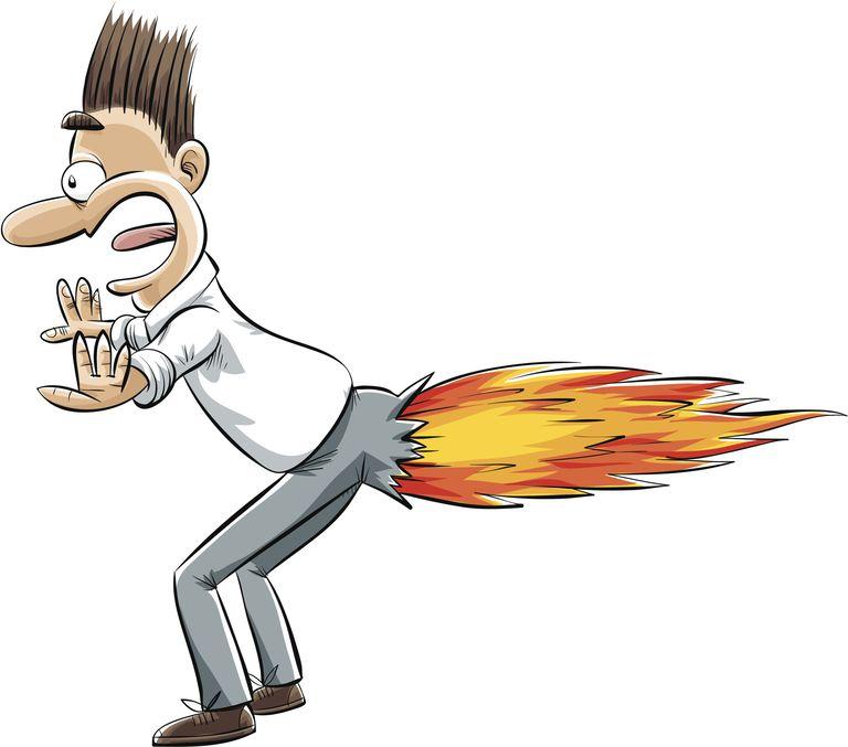 Fart on Fire
