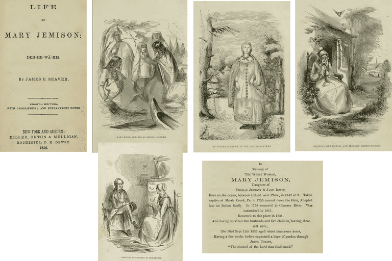 Illustrations from Mary Jemison's Life