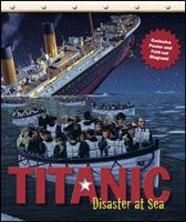 Cover of Titanic: Disaster at Sea, a nonfiction children's book