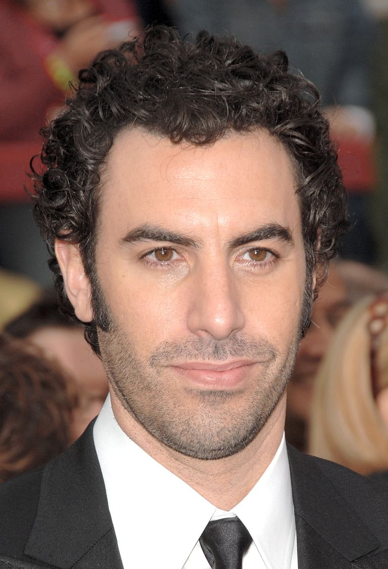 Famous Men With Curly Hair