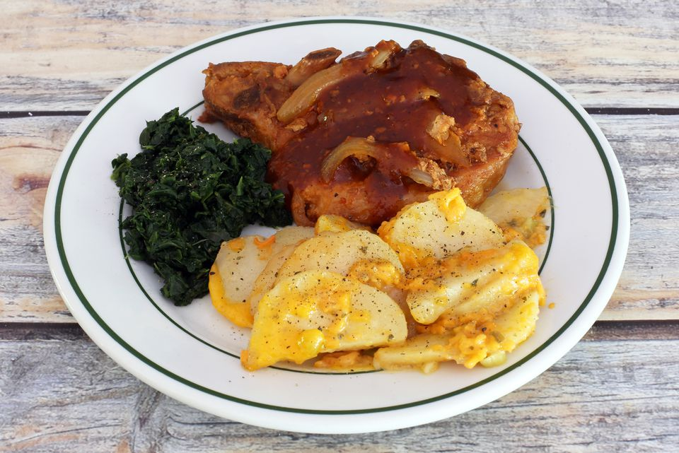 Pork Chop and Potato Slow Cooker Meal