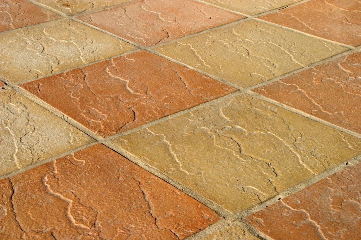 Natural stone and ceramic hard tile compared the trouble with terracotta in bathrooms dailygadgetfo Image collections