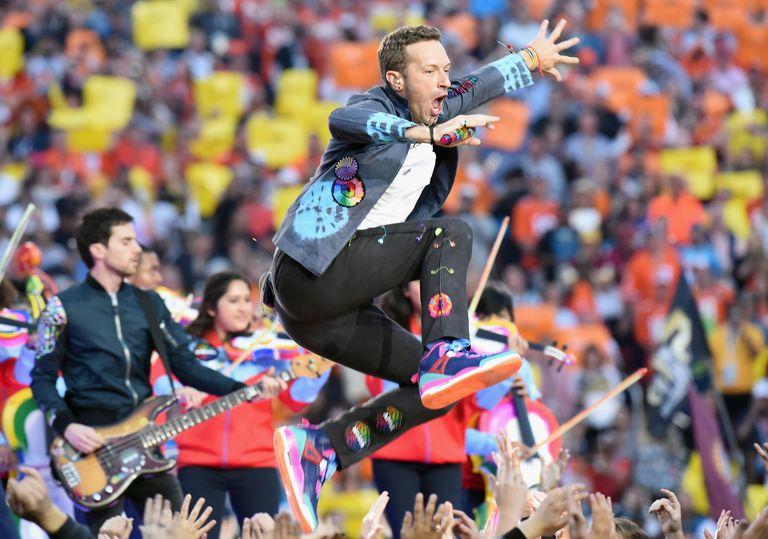 Chris Martin Super Bowl