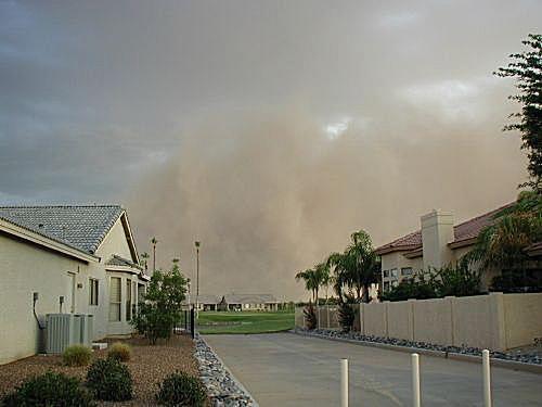 Phoenix Dust Storm, July 2004