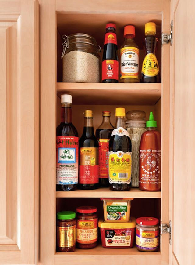 Asian Ingredients in Pantry