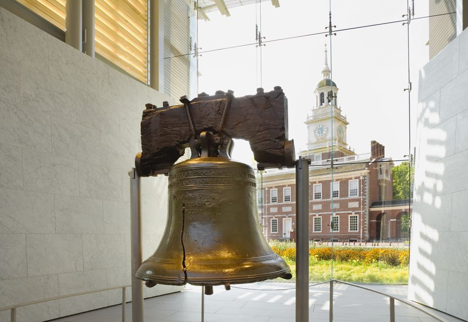 liberty bell Visitors are able to see an exhibit about the liberty bell, focusing on its origins and its modern day role as an international icon of freedom.