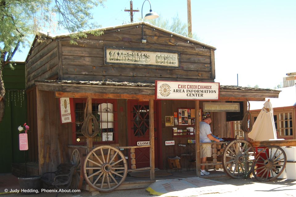 The Cave Creek Chamber and Visitors Center