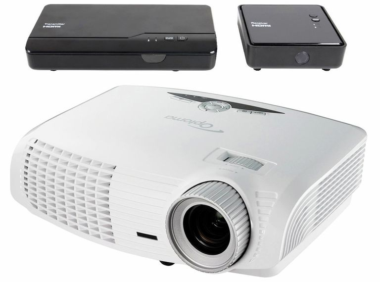 Optoma HD25-LV-WHD Video Projector/Wireless Connection Bundle