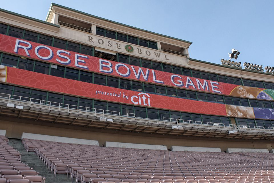 Getting Ready for the Rose Bowl Game