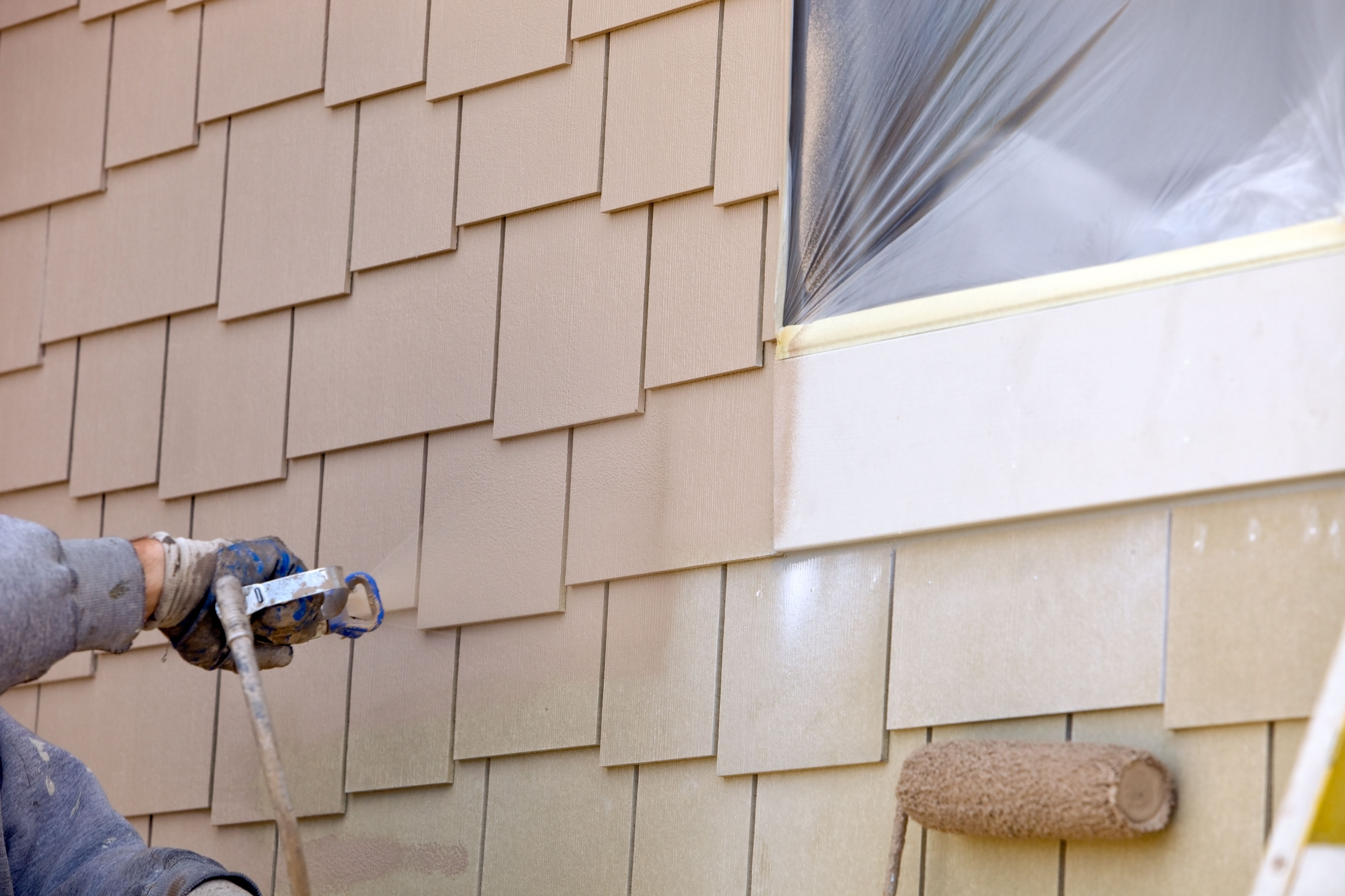 How to use a paint sprayer - Paint sprayer for house exterior ...