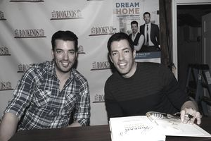 Jonathan & Drew Scott Sign Copies Of 'Dream Home'