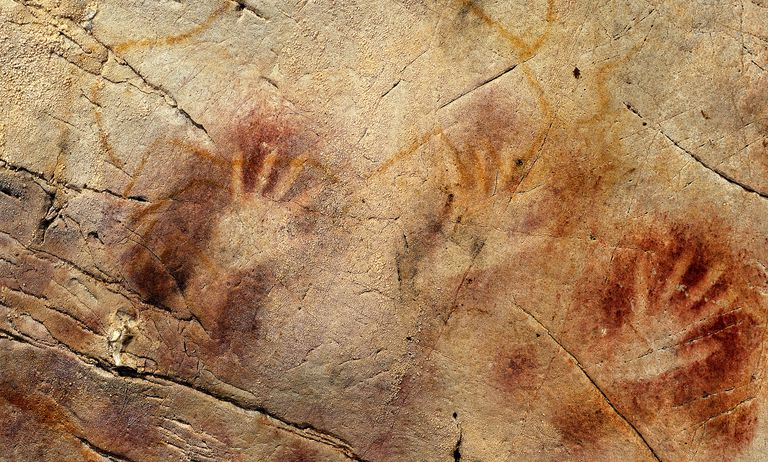 The Panel of Hands, El Castillo Cave, Spain