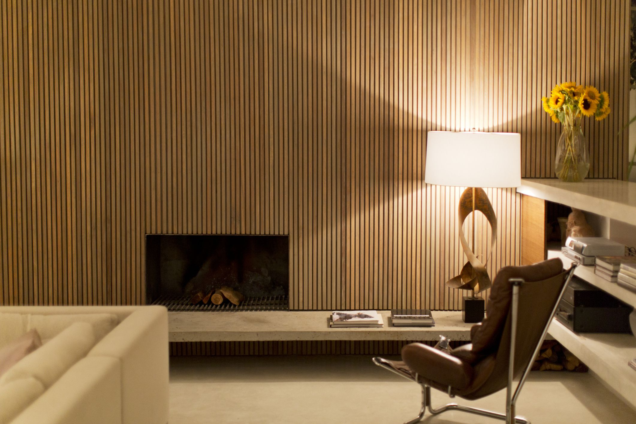 Heres One Alternative To Boring Drywall Wood Wall Paneling