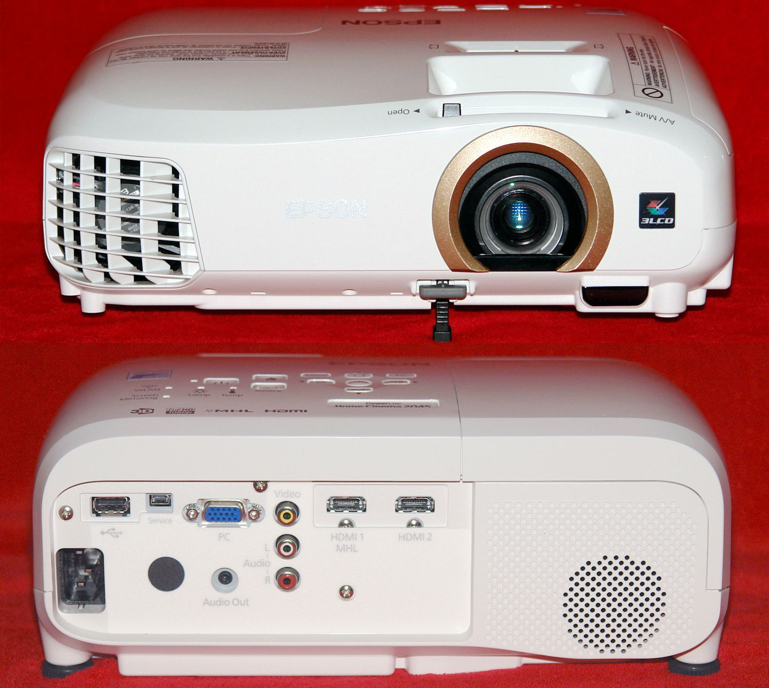 Epson Home Cinema Projector Illustrated Review