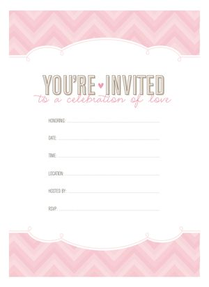 Free printable bridal shower invitations free bridal shower invitation and favor tags from the flair exchange negle Choice Image