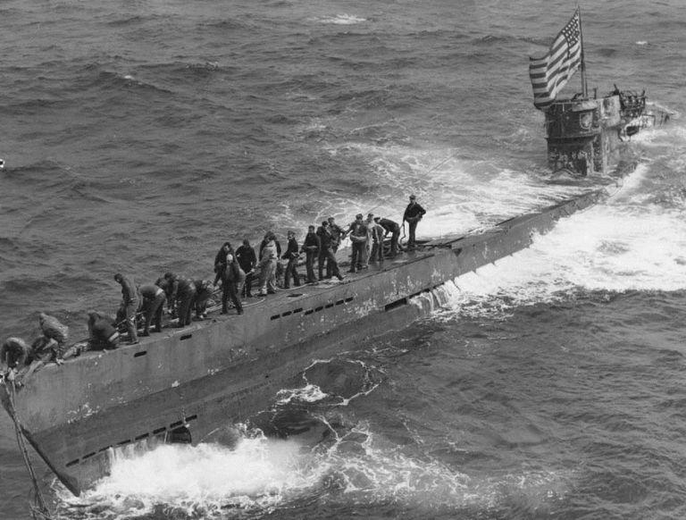 American capture of German submarine U-505