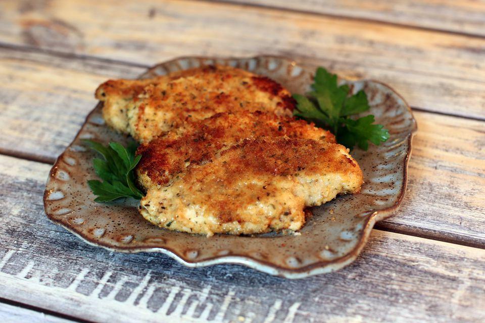 Parmesan Chicken Bake, Easy