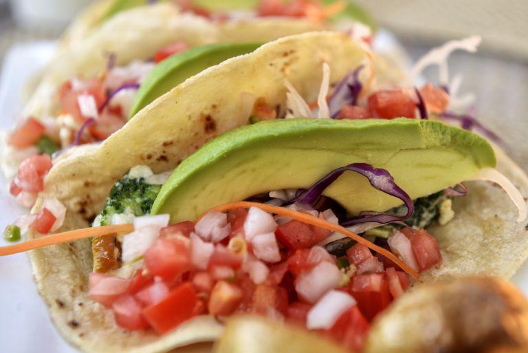 Tacos at Rancho Pescadero, Baja California, Mexico