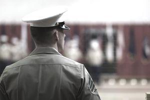 Marine in Blues