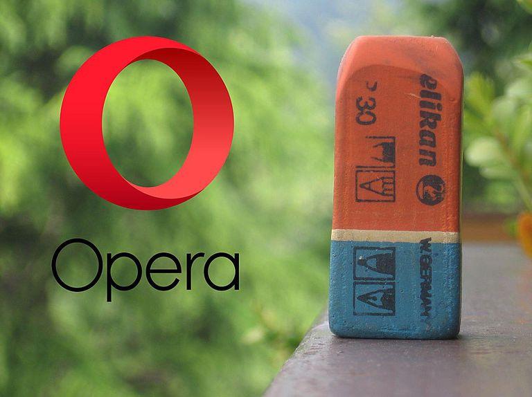 Borrar el historial en el navegador Opera