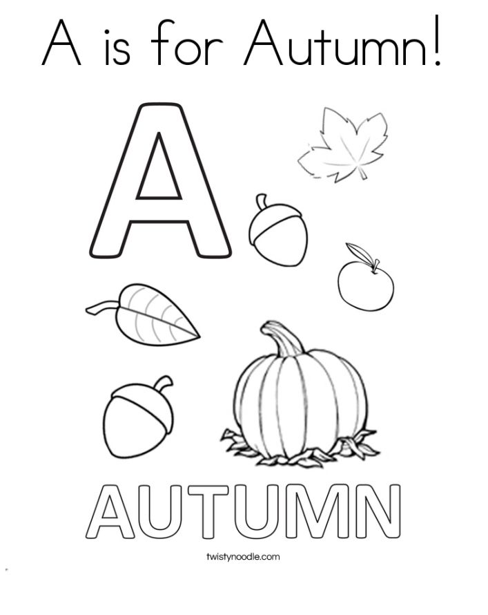 423 Free Autumn and Fall Coloring Pages You Can Print