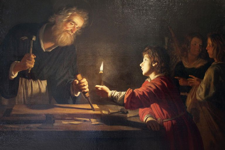 Childhood of Christ (Detail)