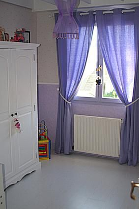Basic Wardrobe in Little Girl's Bedroom