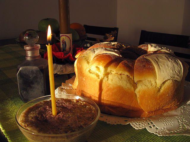Slava bread