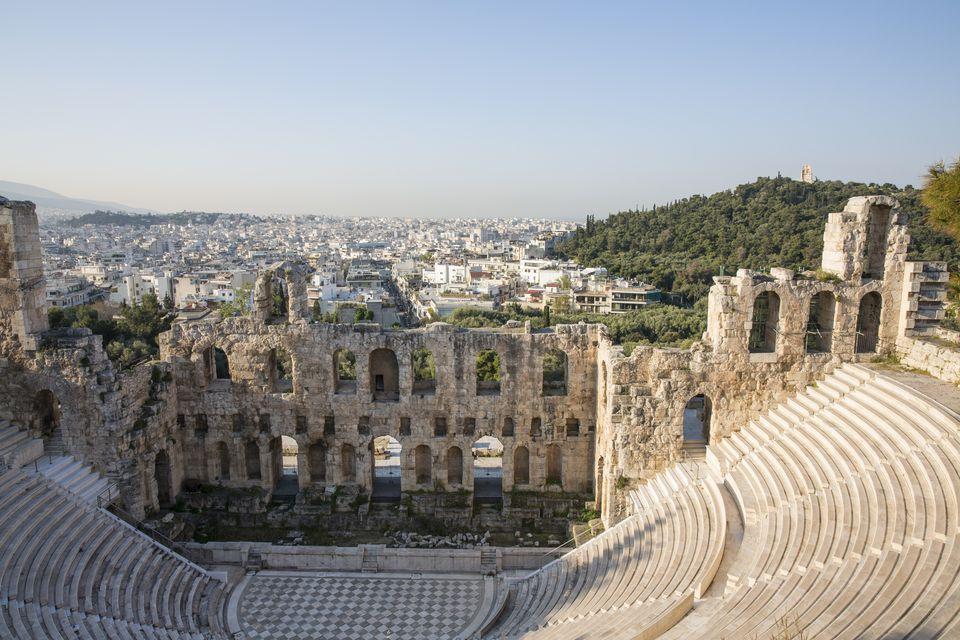 Oden of Herodes Atticus, Amphitheathre