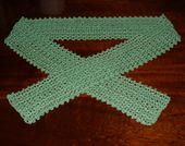 Easy V Stitch Lace Scarf