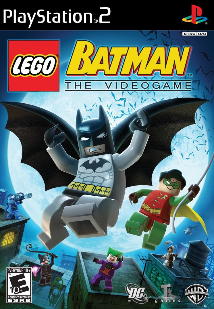LEGO Batman: The Videogame (PS2)