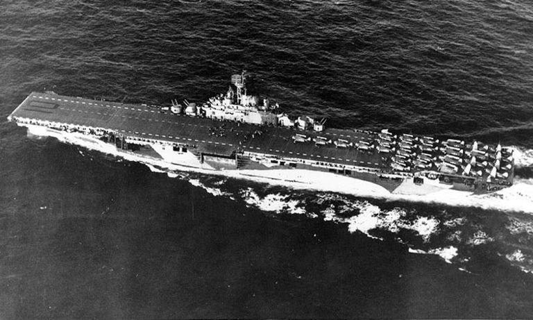 USS Yorktown (CV-10) during World War II