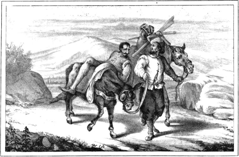 El ingenioso hidalgo Don Quijote del Mancha.