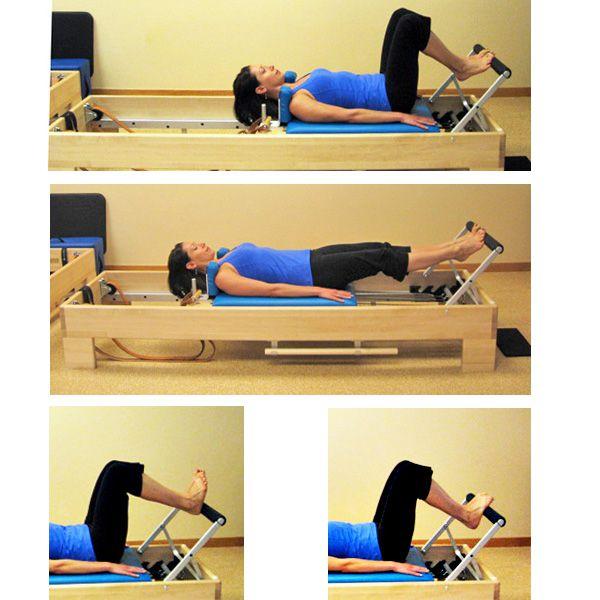 pilates reformer footwork