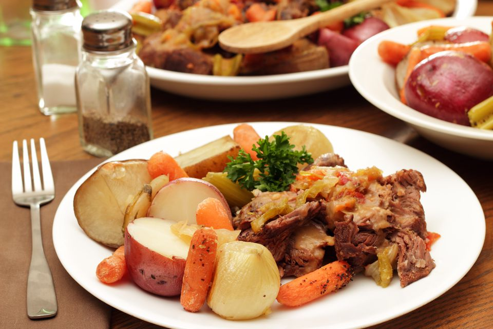 Pot Roast With Potatoes