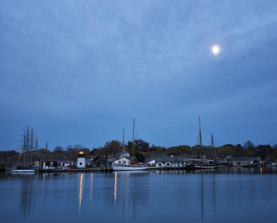 Mystic Seaport Museum Harbor