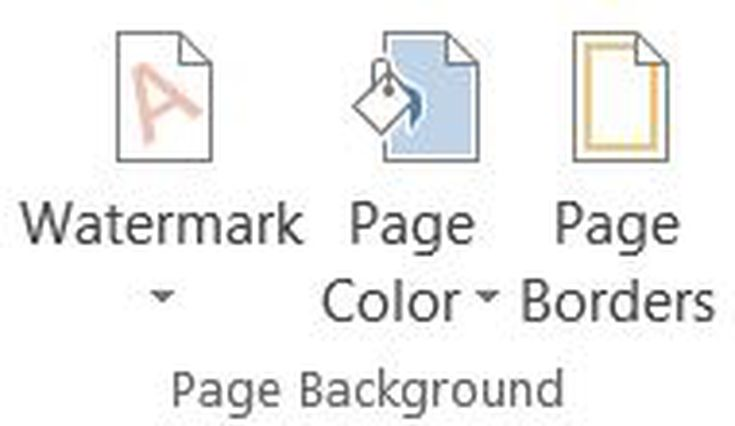 Customize The Digital Or Printed Background Of A Microsoft Office Doc