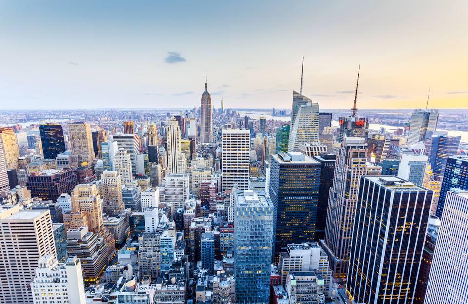 New York Midtown Manhattan Skyline